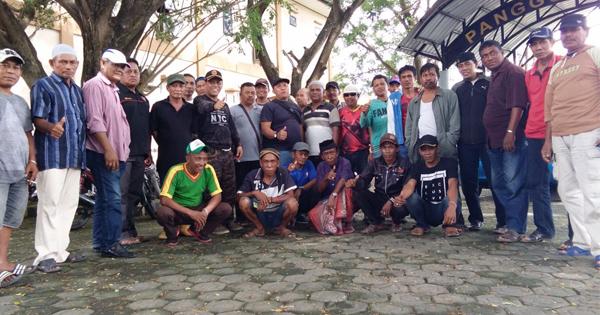 Peduli Kamtibmas, Ormas Ini Turut Amankan Perayaan Tahun Baru di Pinrang